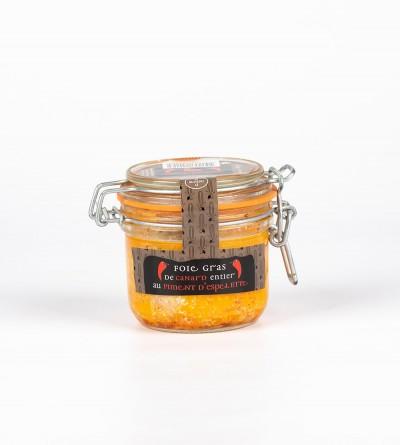 Foie gras entier au piment 180 Gr