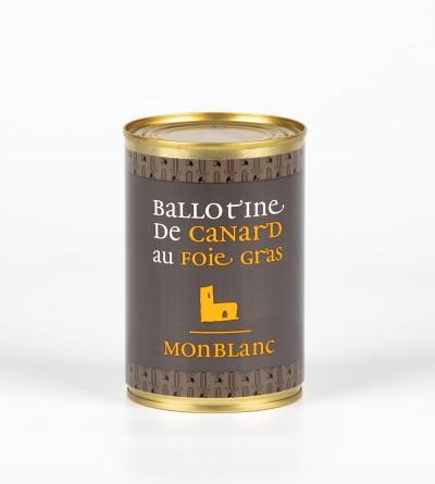 Ballotine de canard au foie...