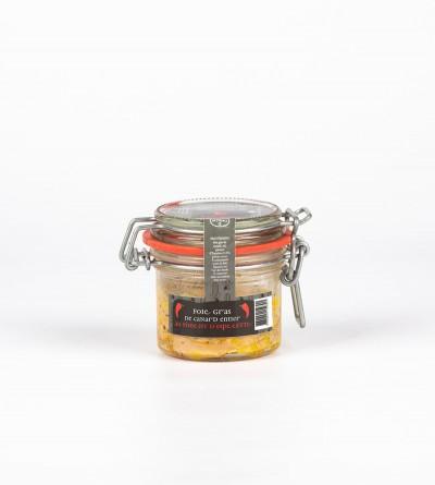 Foie gras entier au piment...